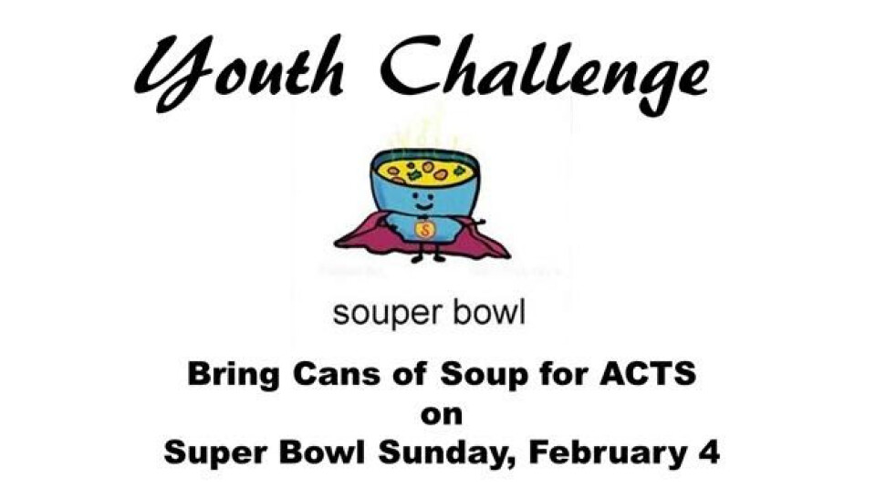 Youth Challenge Souper Bowl
